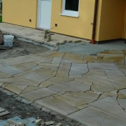 sandsteinpolygonalplatten